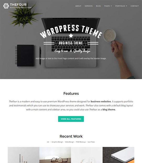 TheFour Minimal WordPress Themes