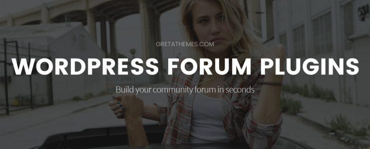 wordpress forum plugins