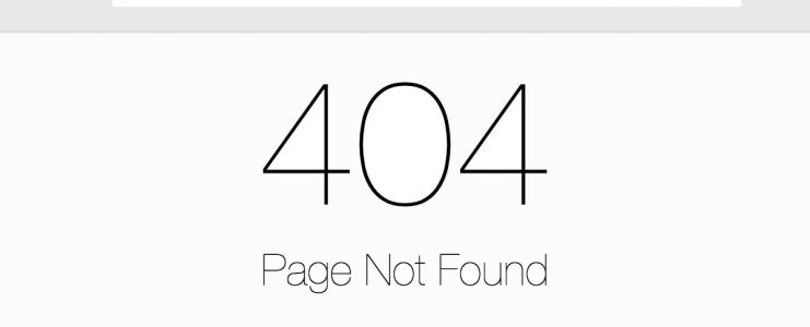 404 links