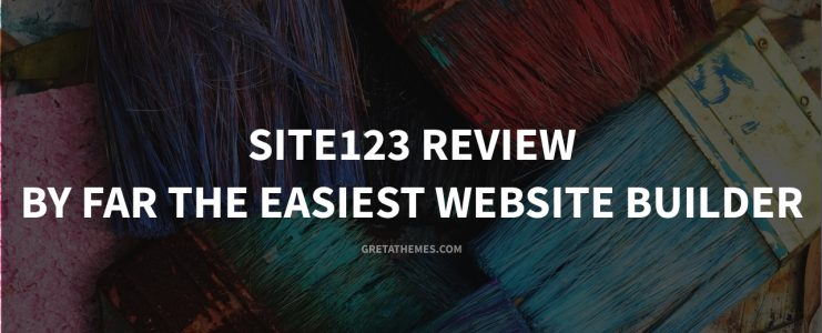site123 review - By Far the Easiest Website Builder